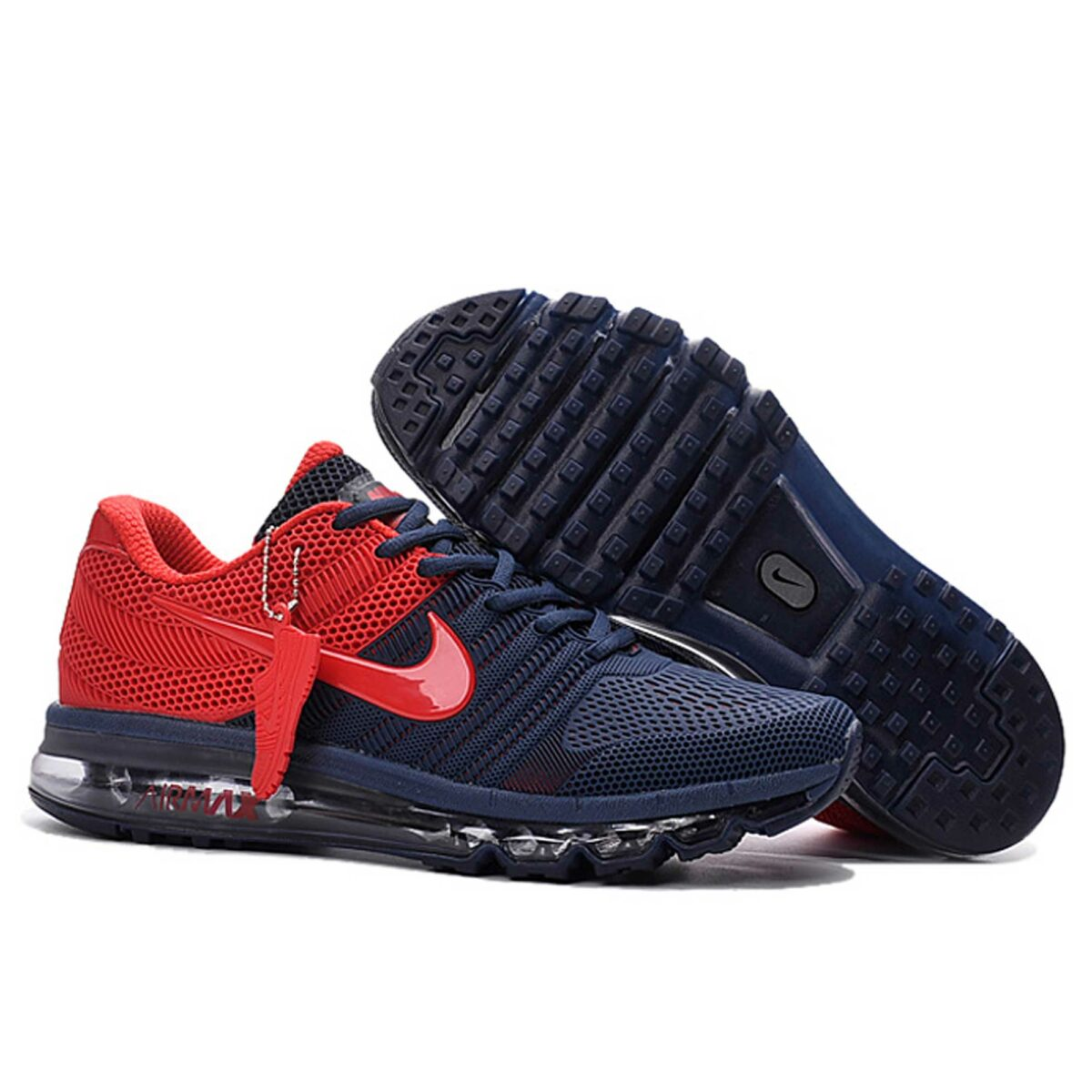 nike air max 2017 KPU dark blue red купить