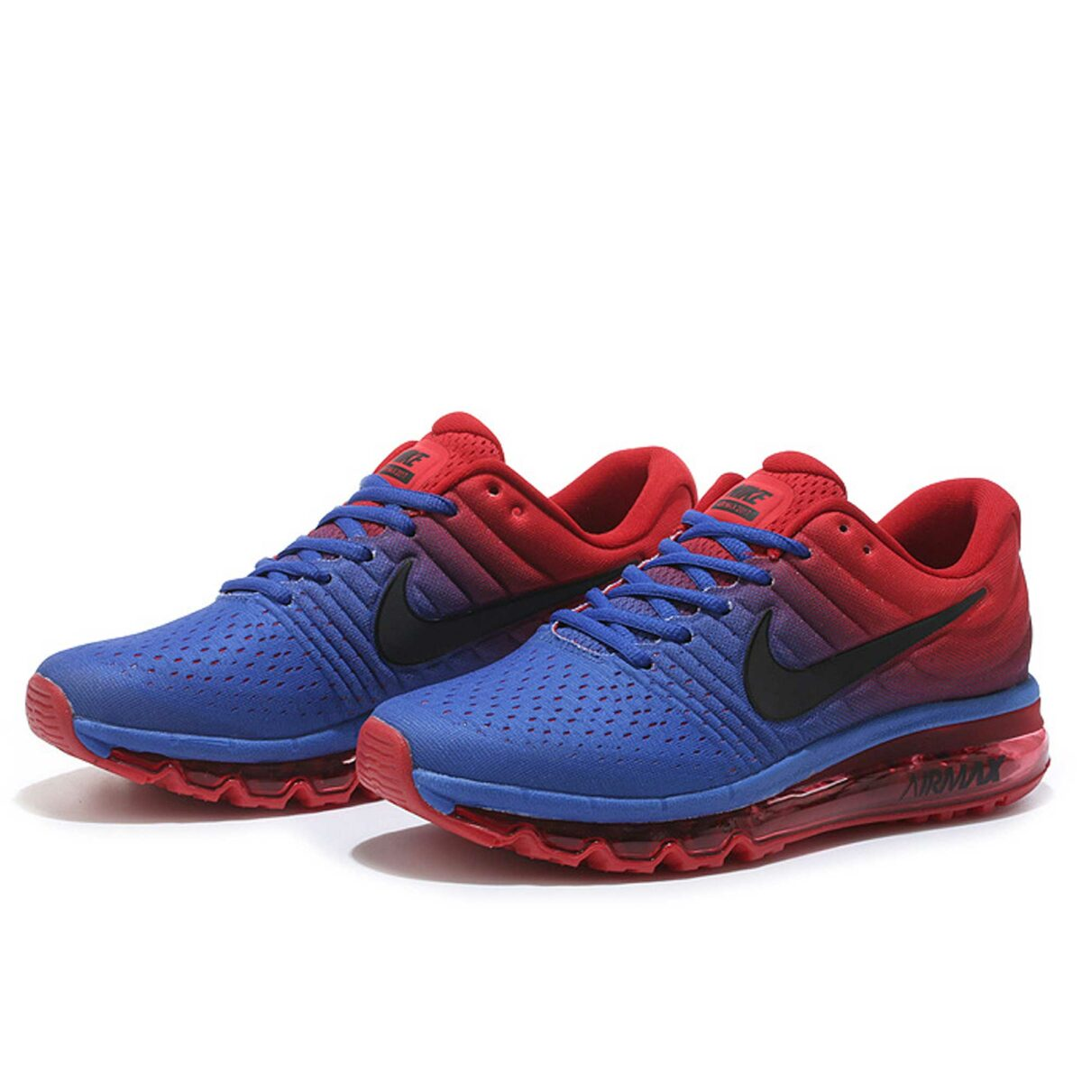 nike air max 2017 paramount blue orange 849559-402 купить