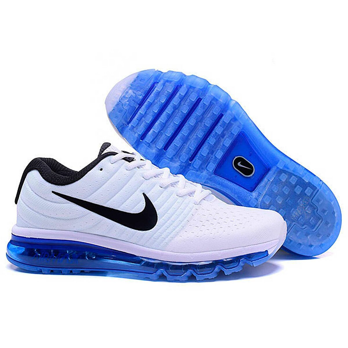 nike air max 2017 white blue 849560-107 купить