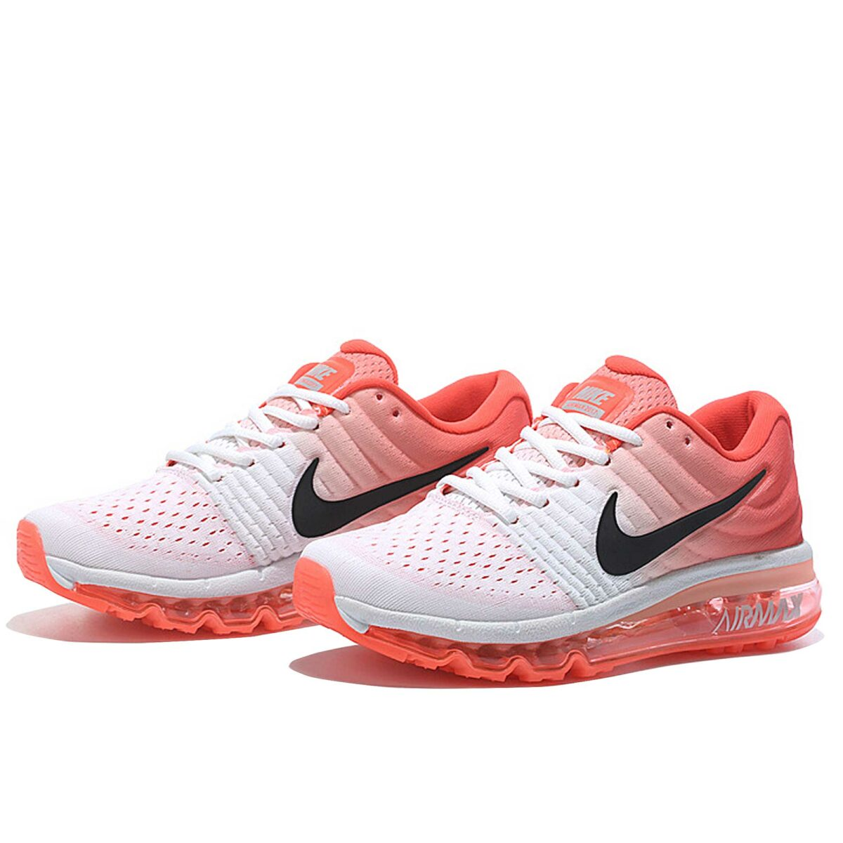 nike air max 2017 white peach 8495601-106 купить