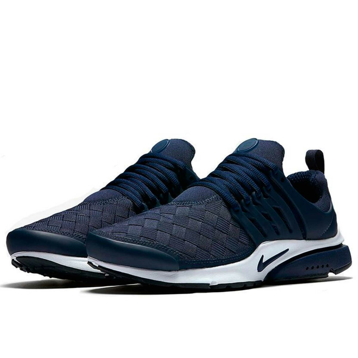 nike air presto se woven running blue купить