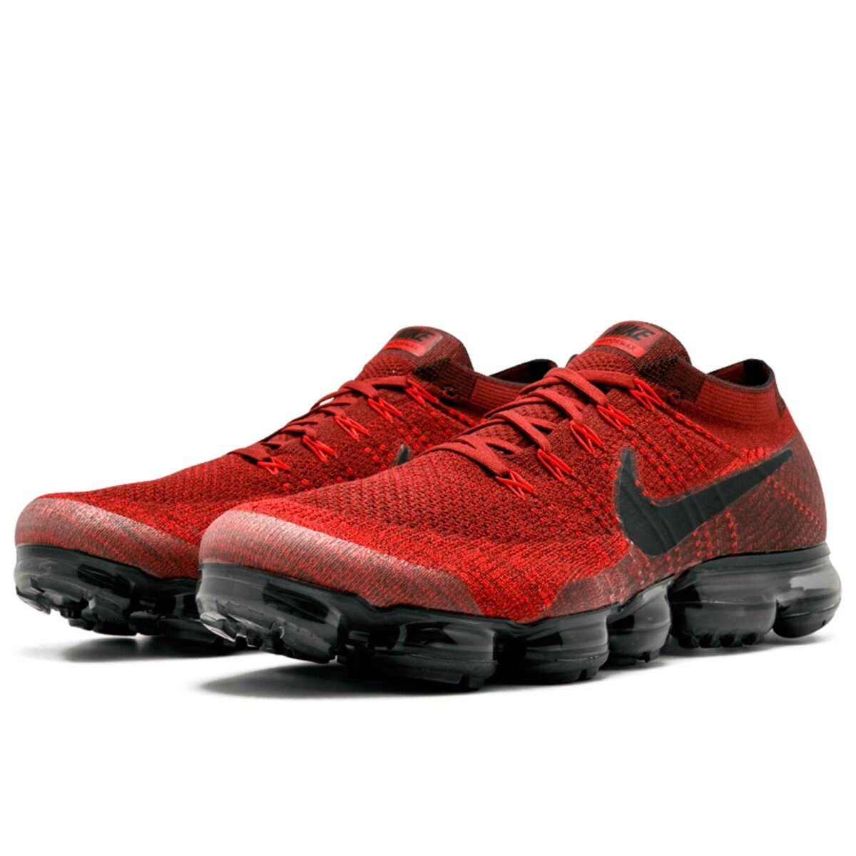 nike air vapormax flyknit dark team red black 849558_601 купить