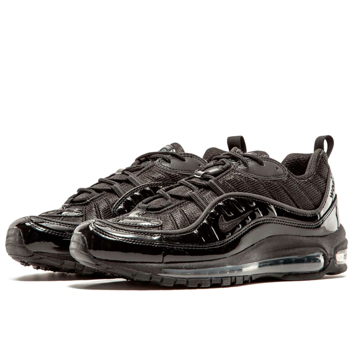 nike air max 98 supreme all black 844694_001 купить
