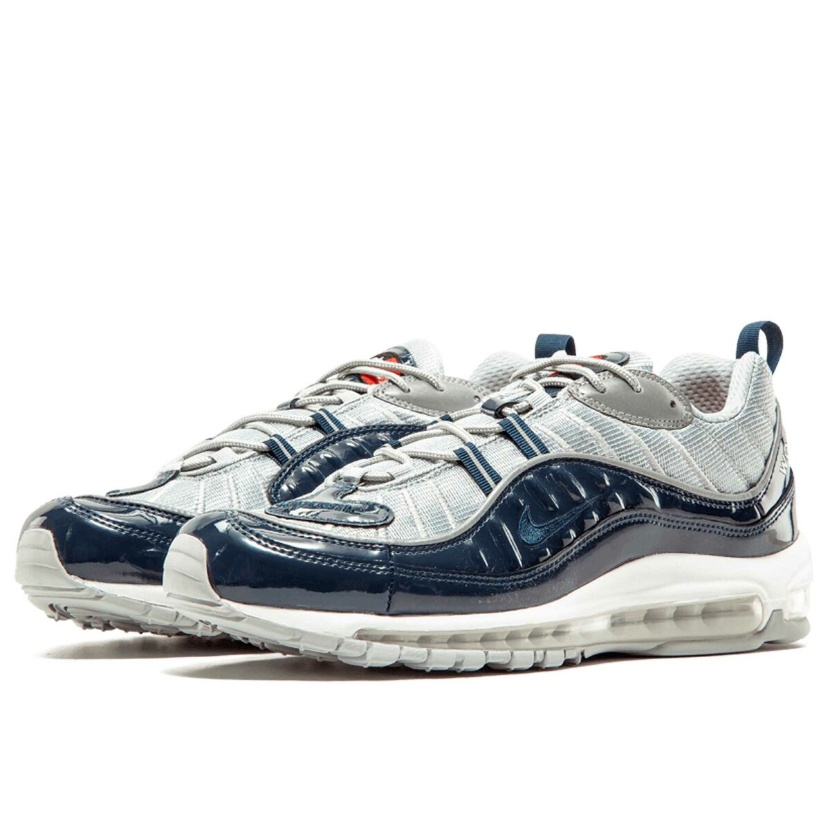 nike air max 98 supreme silver blue 844694_400 купить