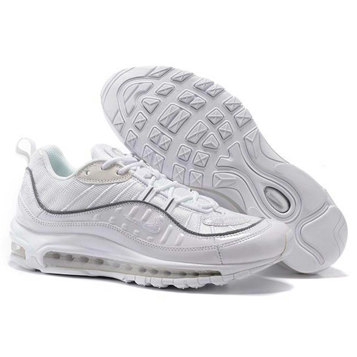 nike air max x supreme 98 all white 844694_002 купить