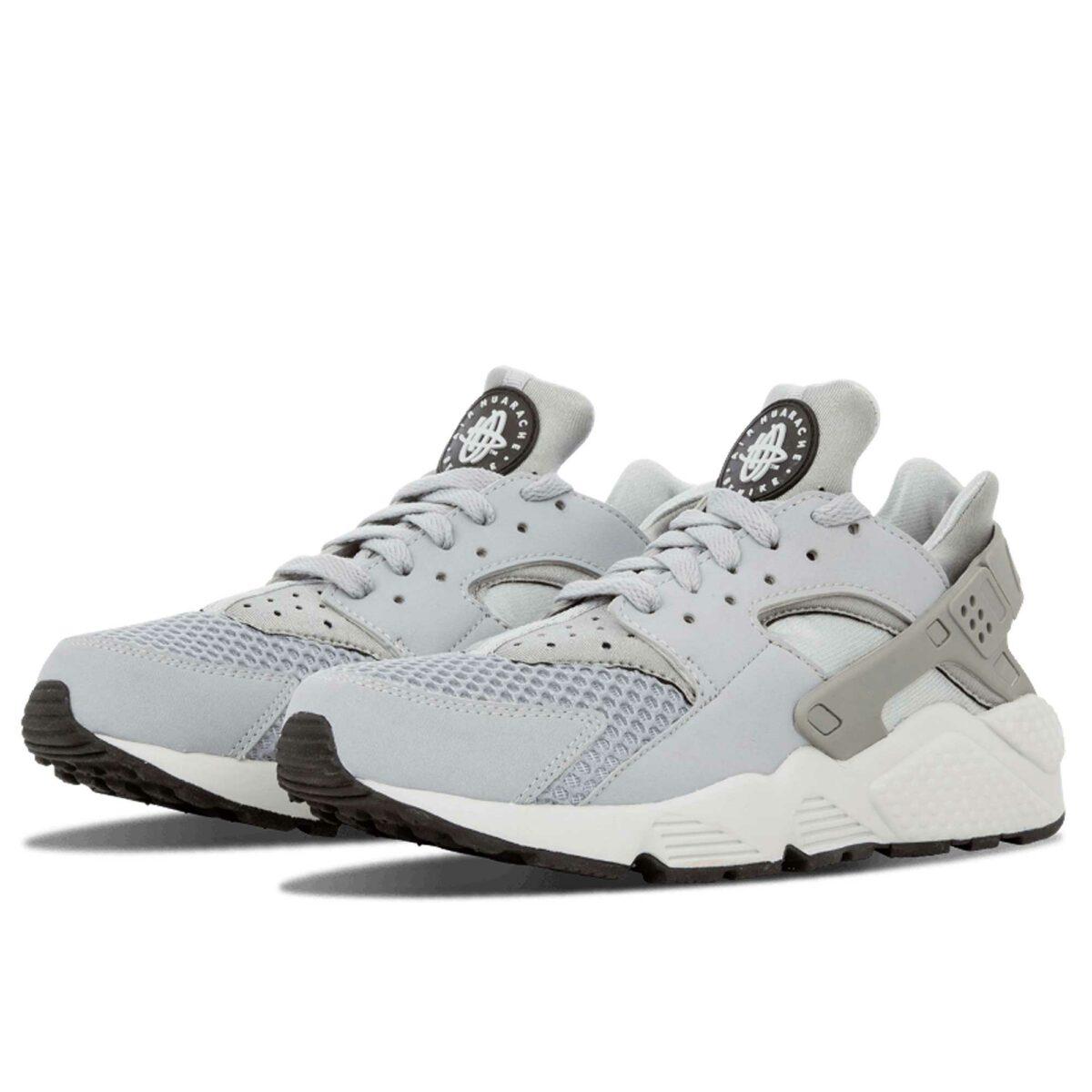 nike air huarache grey white 318429_014 купить