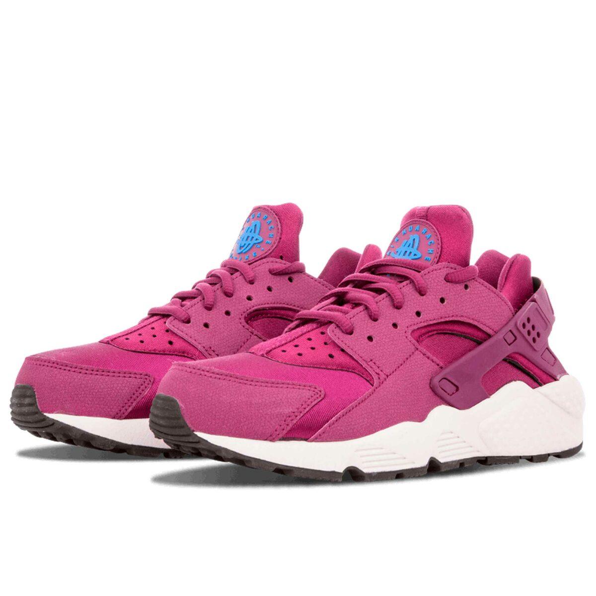 nike air huarache run pink white 634835_500 купить