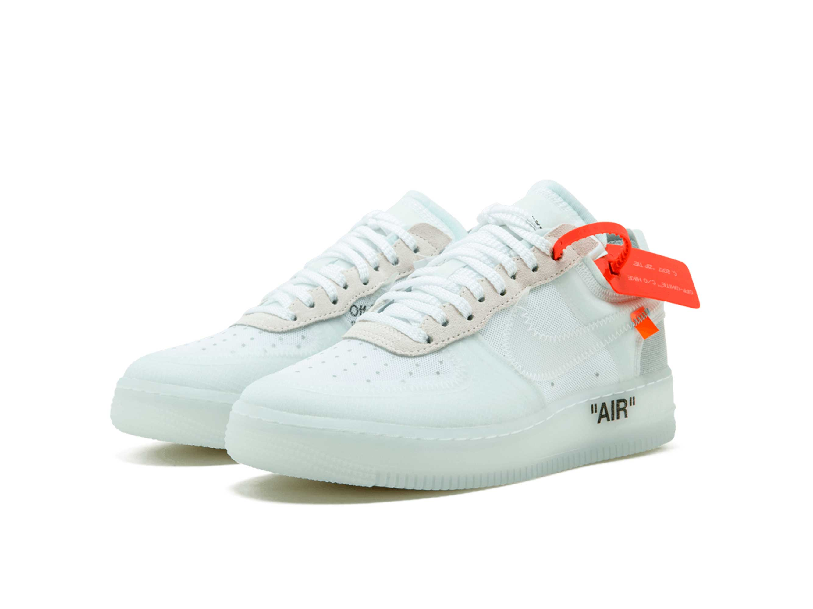 «the X Air Colection Off 1 Ten» White Nike Force Low Ow80PknXN