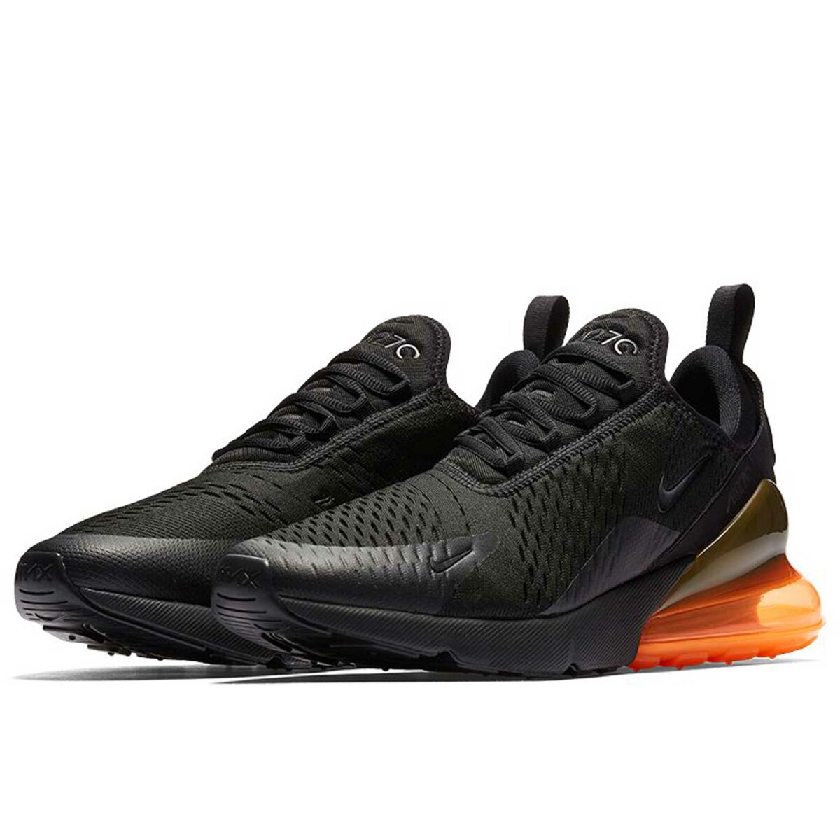 nike air max 270 black total orange hell AH8050_008 купить