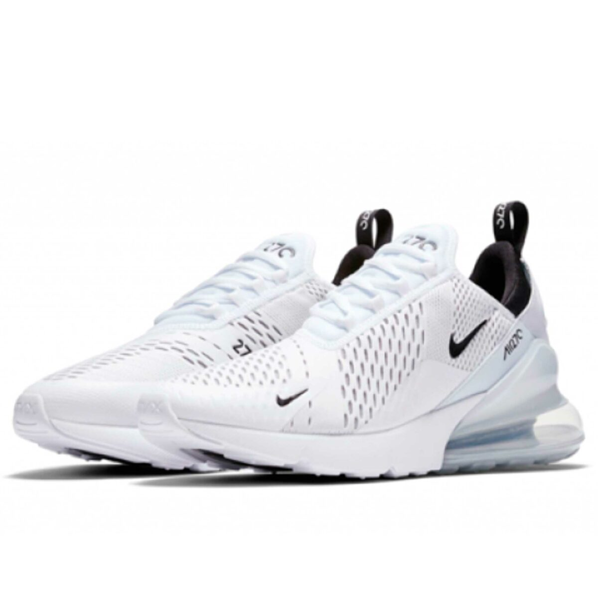 nike air max 270 all white AH8050_100 купить