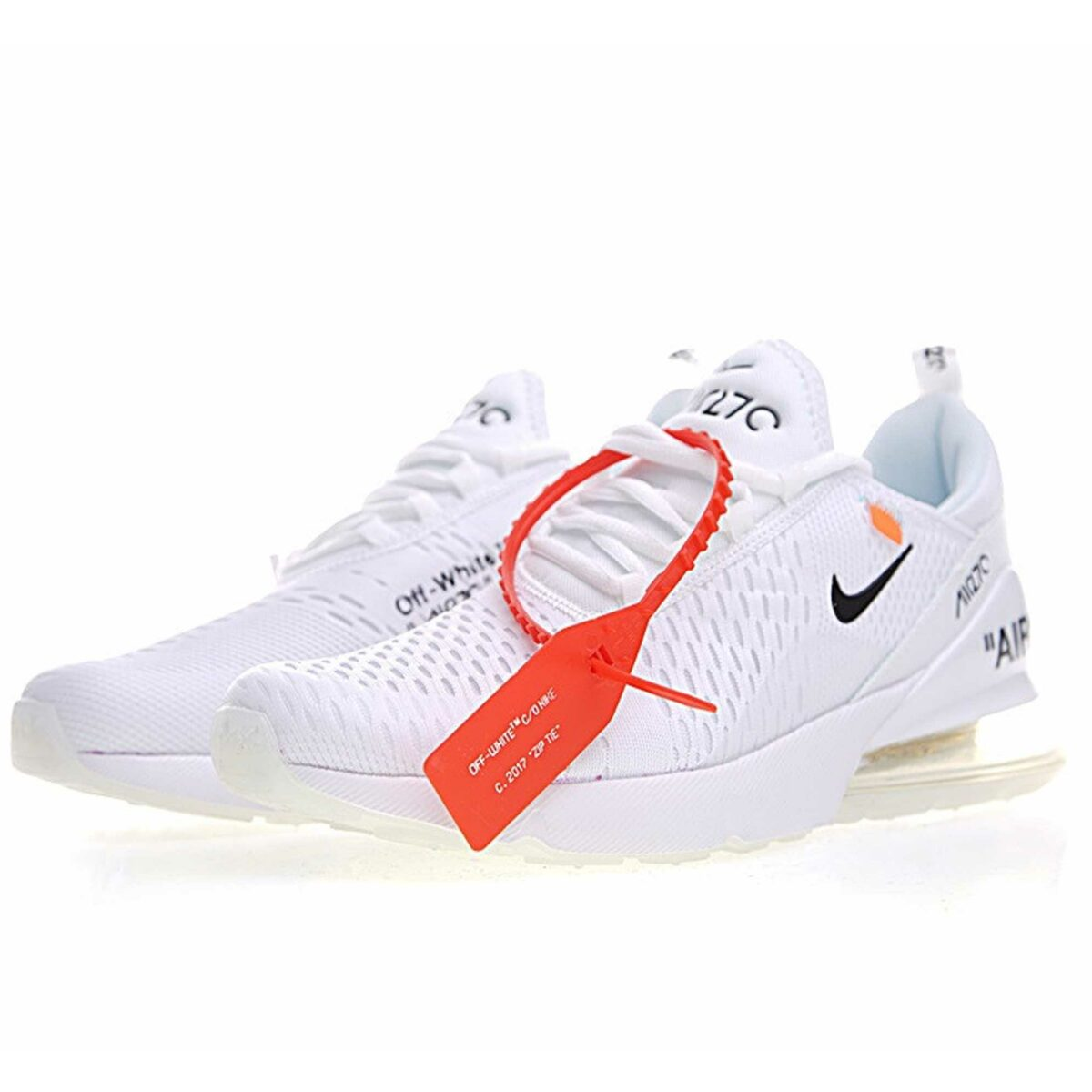 off white x nike air max 270 white купить