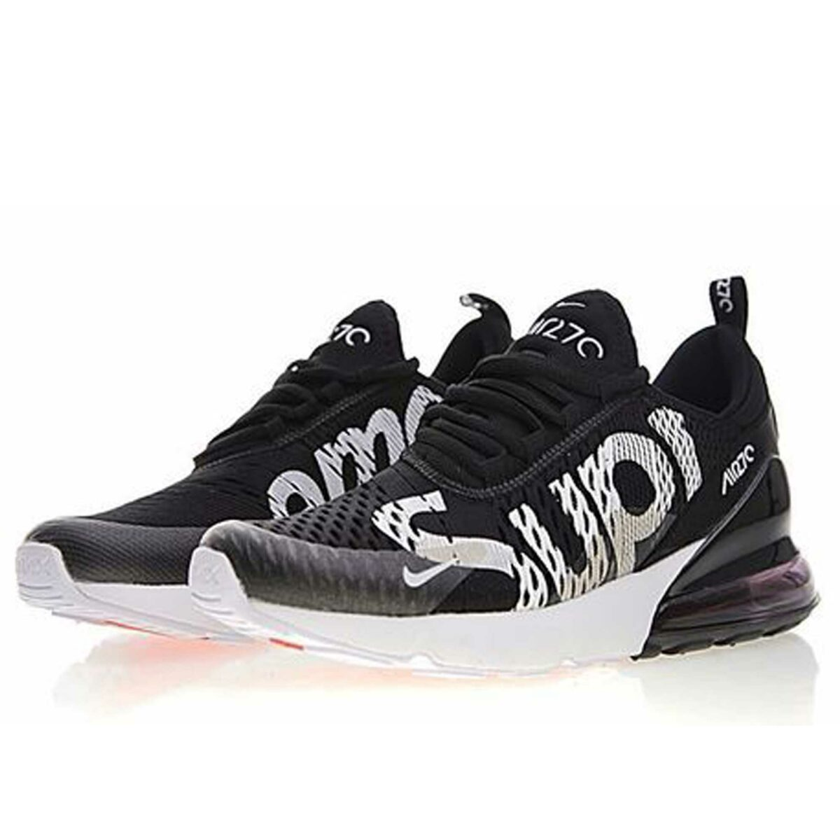 nike air max 270 black supreme AH8050_211 купить