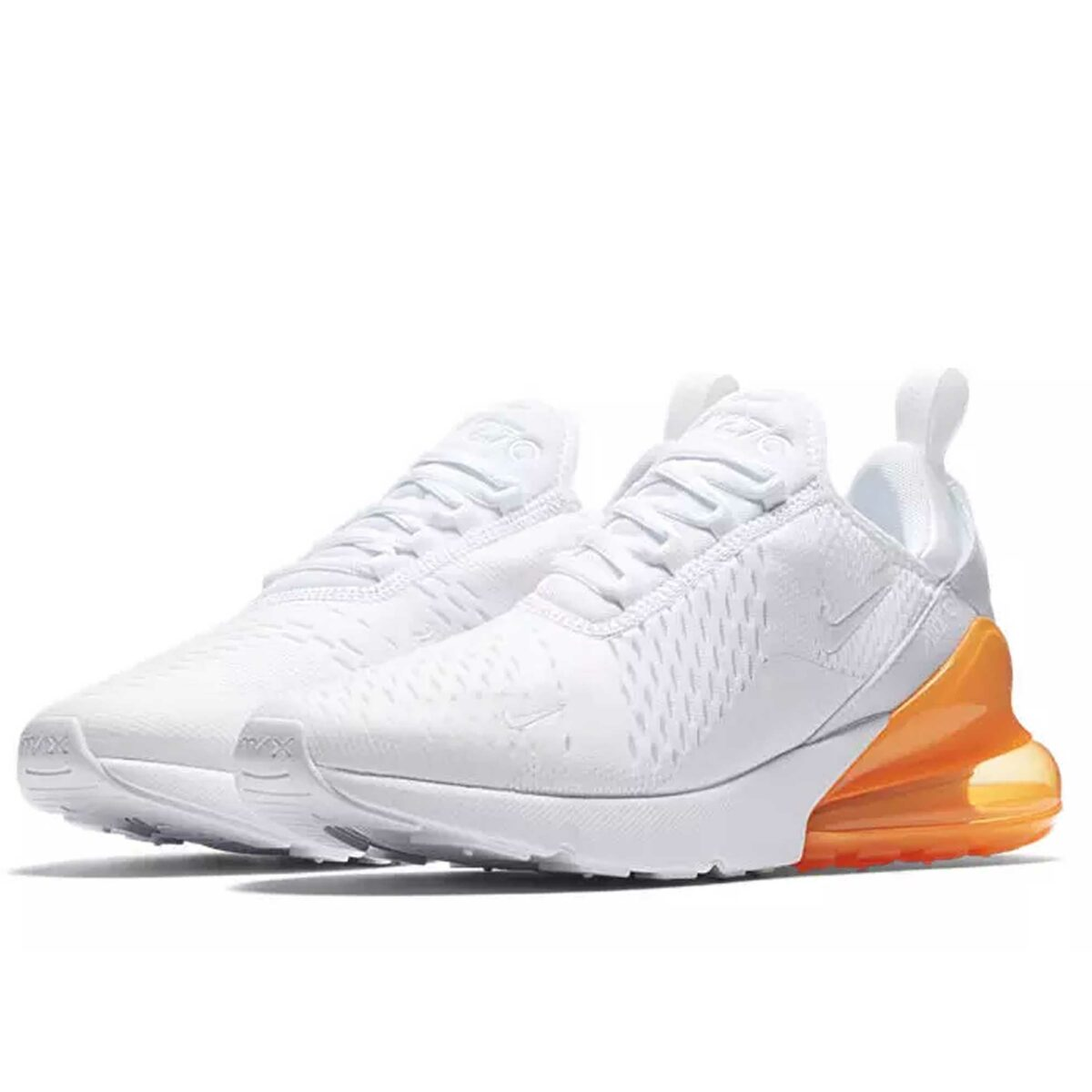 nike air max 270 white total orange ah8050_102 купить