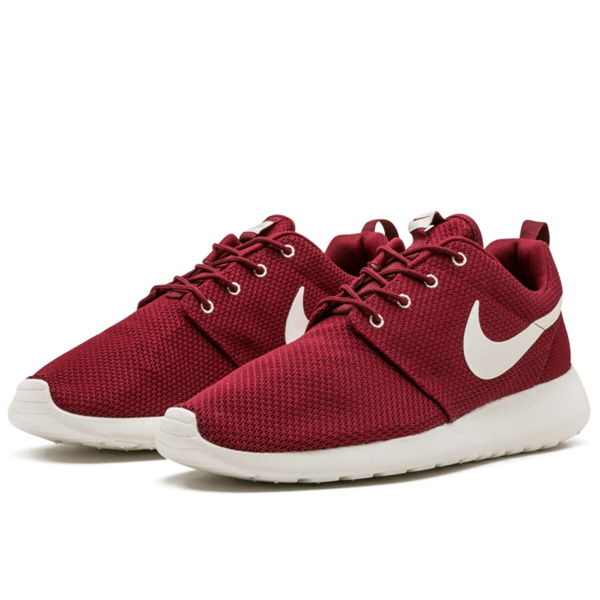 nike roshe run red white 511881_610 купить