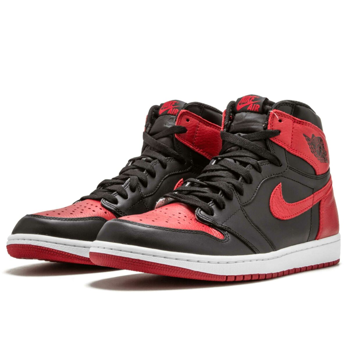 nike air Jordan 1 retro high og black red 555088_001 купить