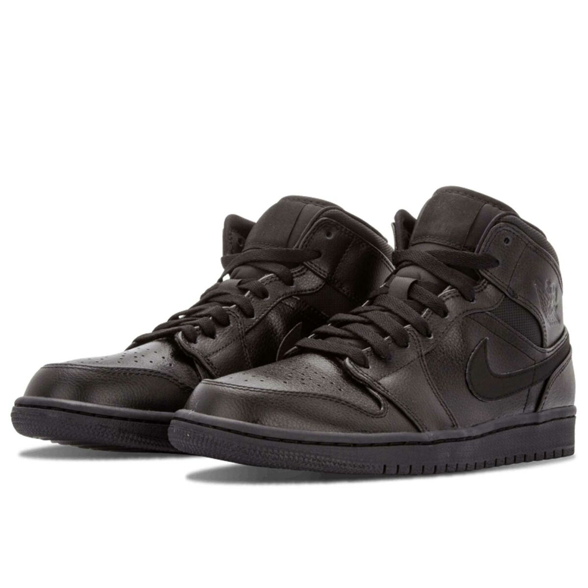 nike air Jordan 1 retro high og all black 554724_030 купить