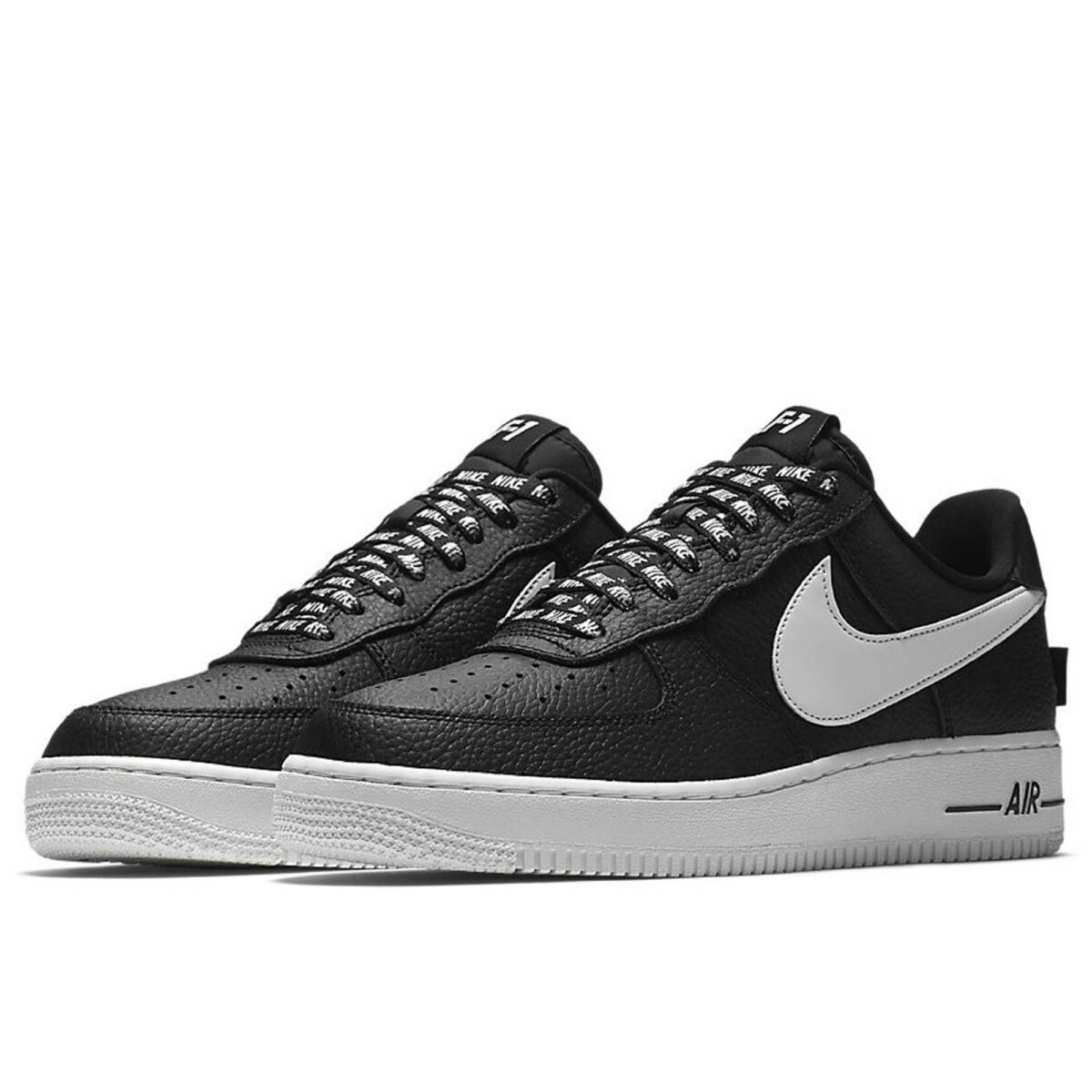 nike air force 1 '07 lv8 black white 823511_007 купить