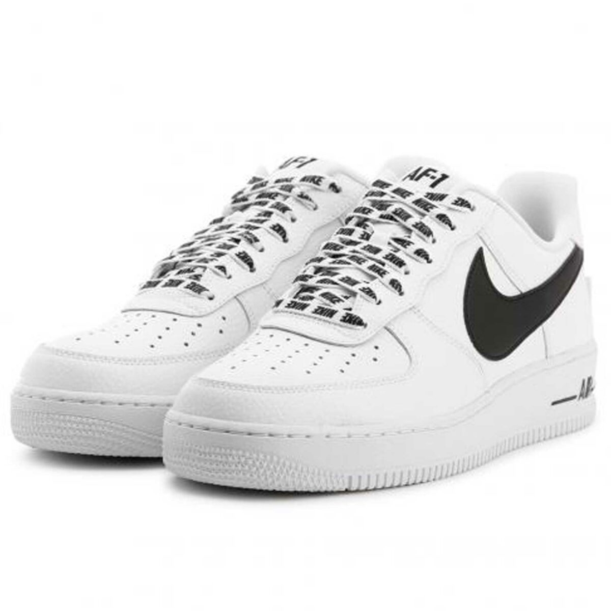 nike air force 1 '07 lv8 white black 823511_103 купить