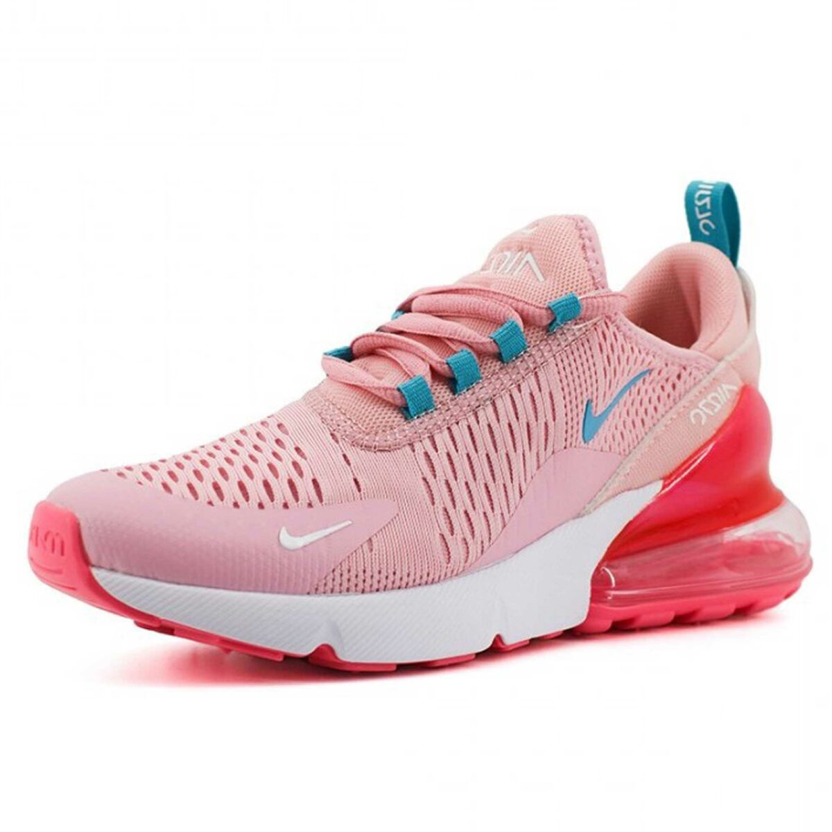 nike air max 270 pink blue купить