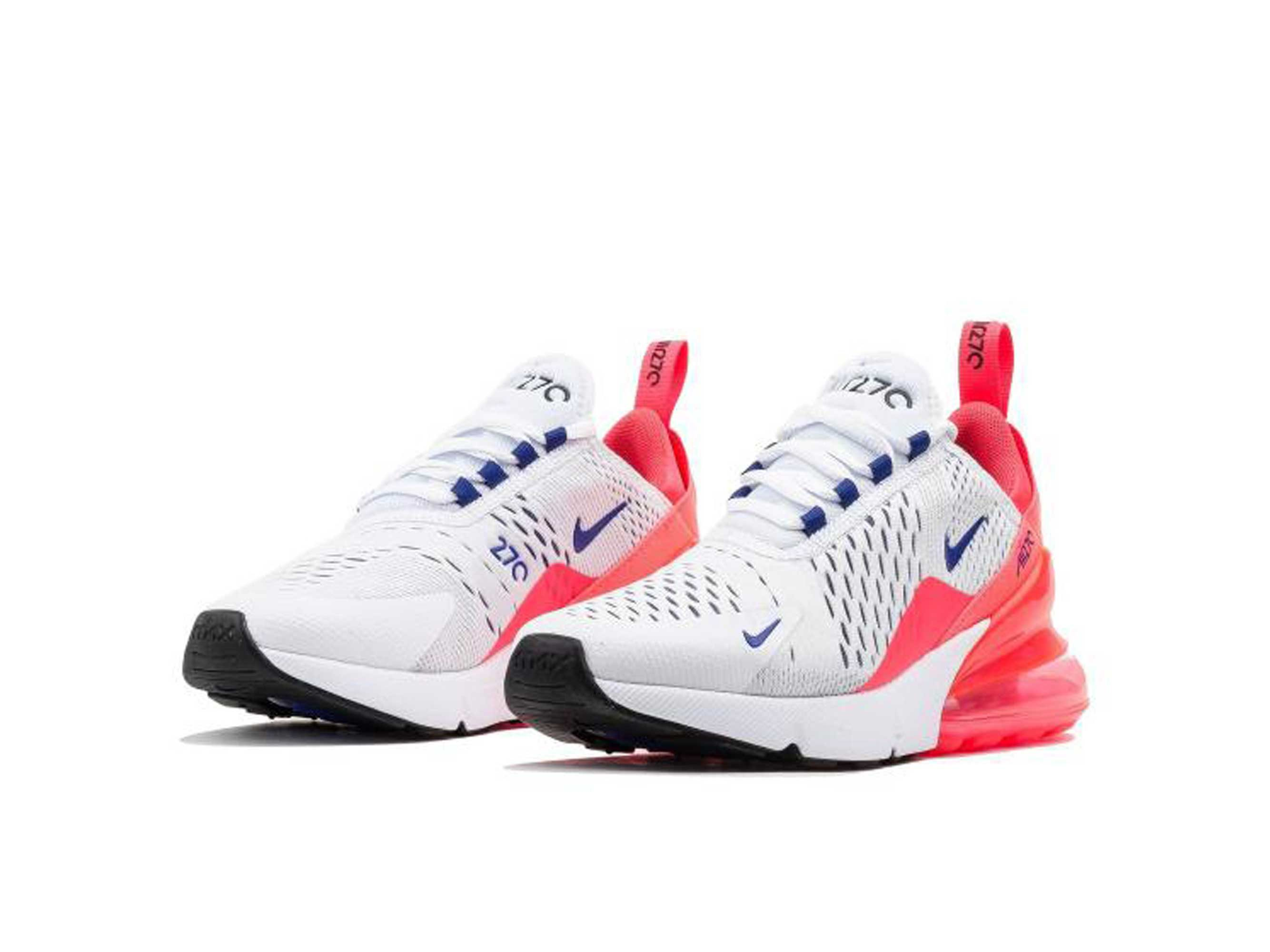 nike air max 270 white pink AH6789_101 купить