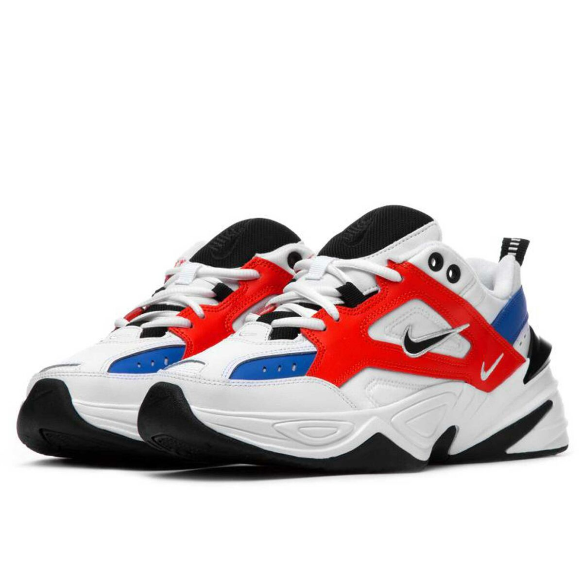 nike m2k tekno white orange ao3108_101 купить