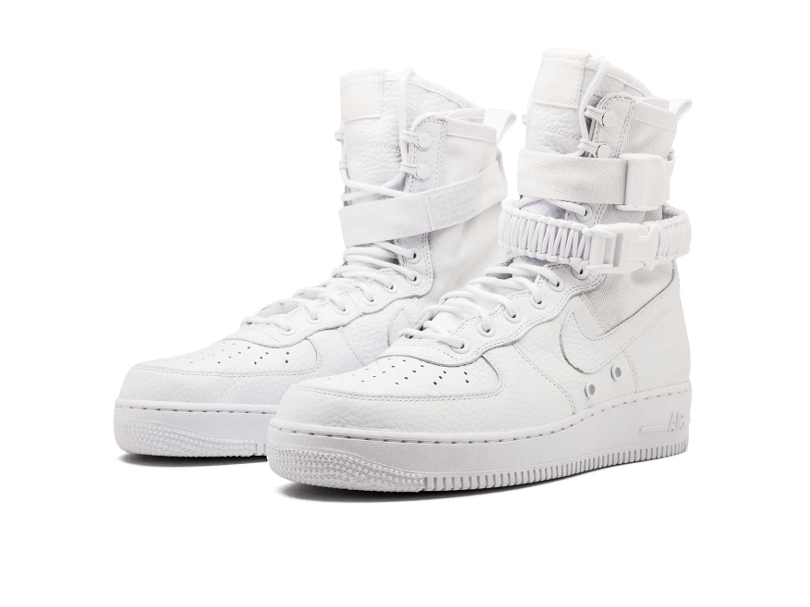 nike sf air force 1 all white 903270_100 купить