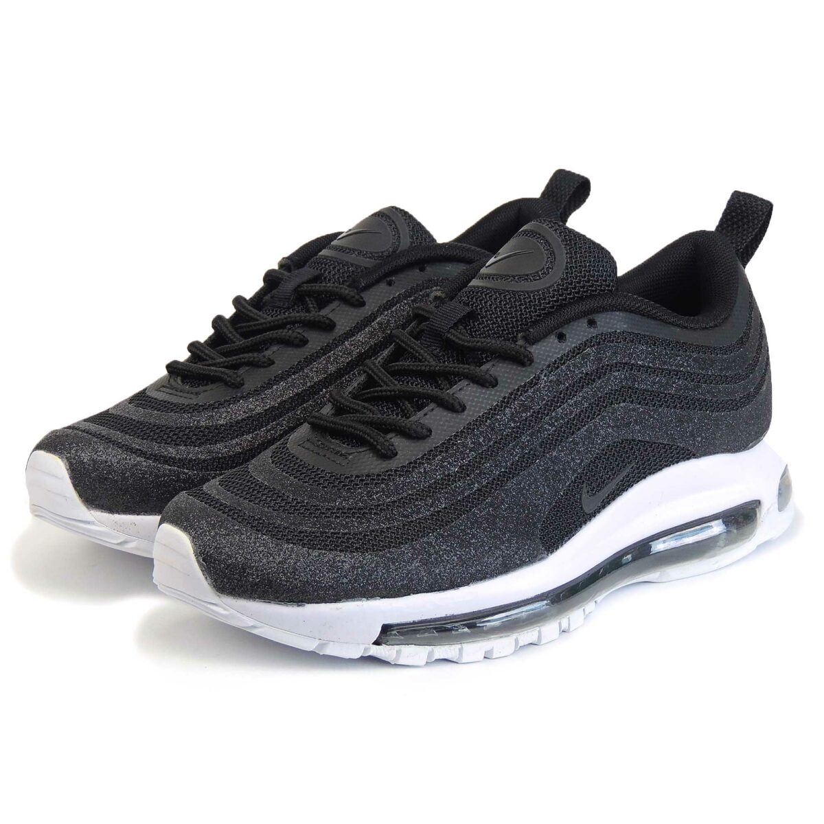 nike air max 97 LX swarovski black white купить