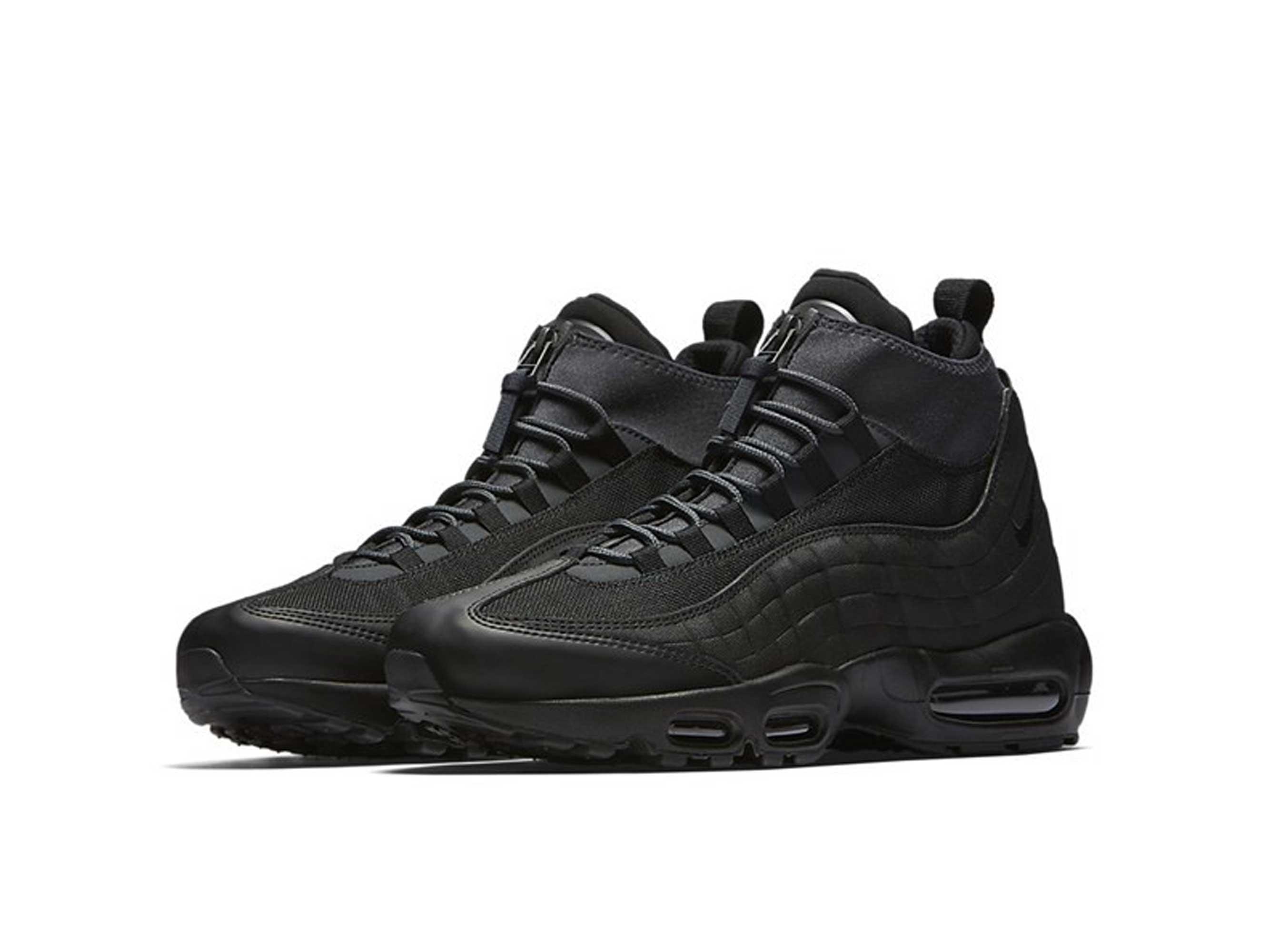 nike air max 95 sneakerboot black 806809_001 купить