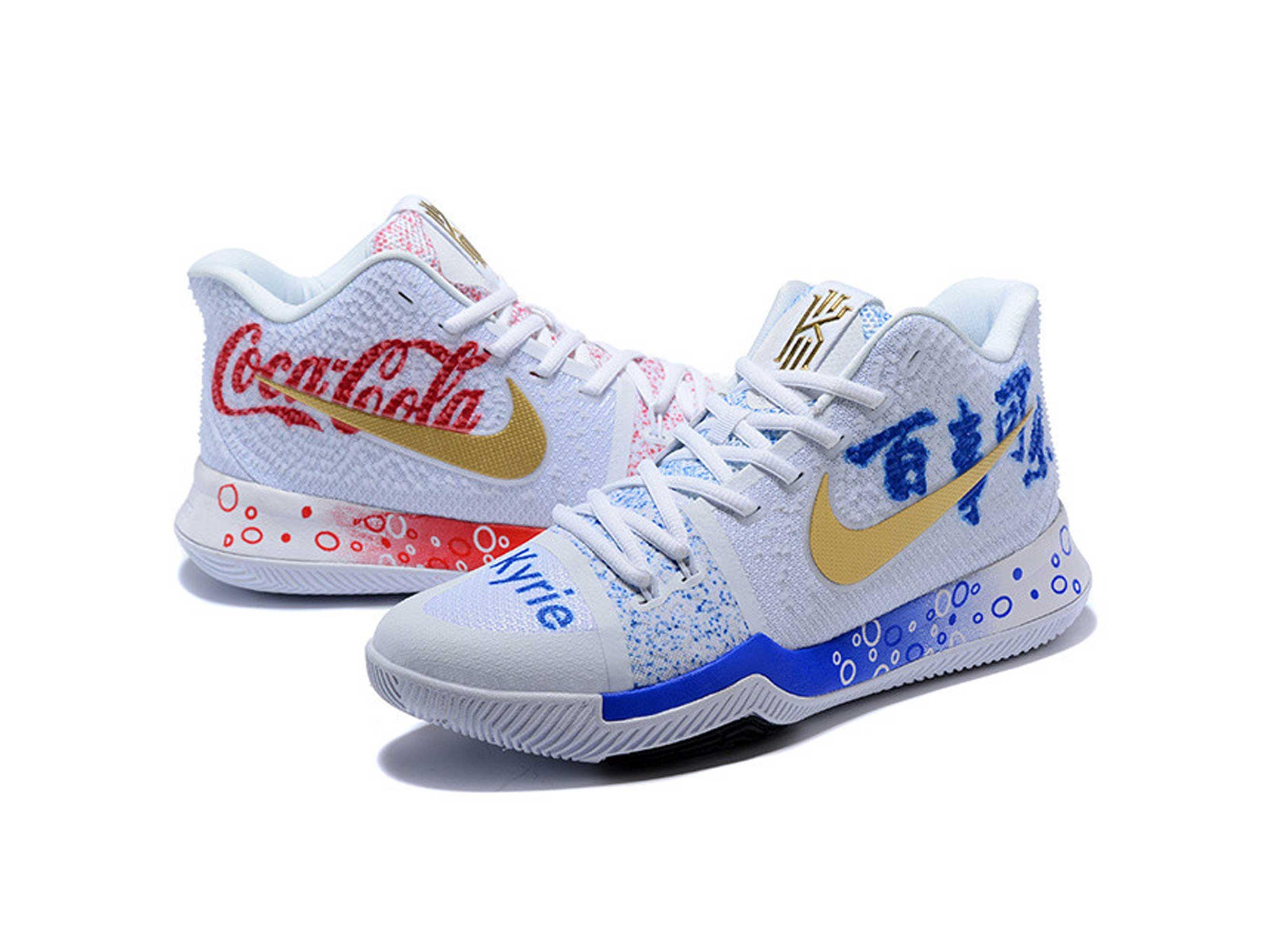 nike Kyrie 3 Coca-Cola купить