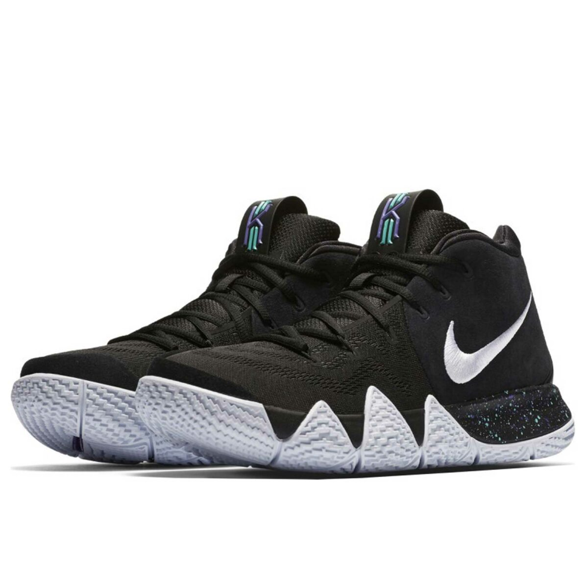 nike Kyrie 4 black white купить