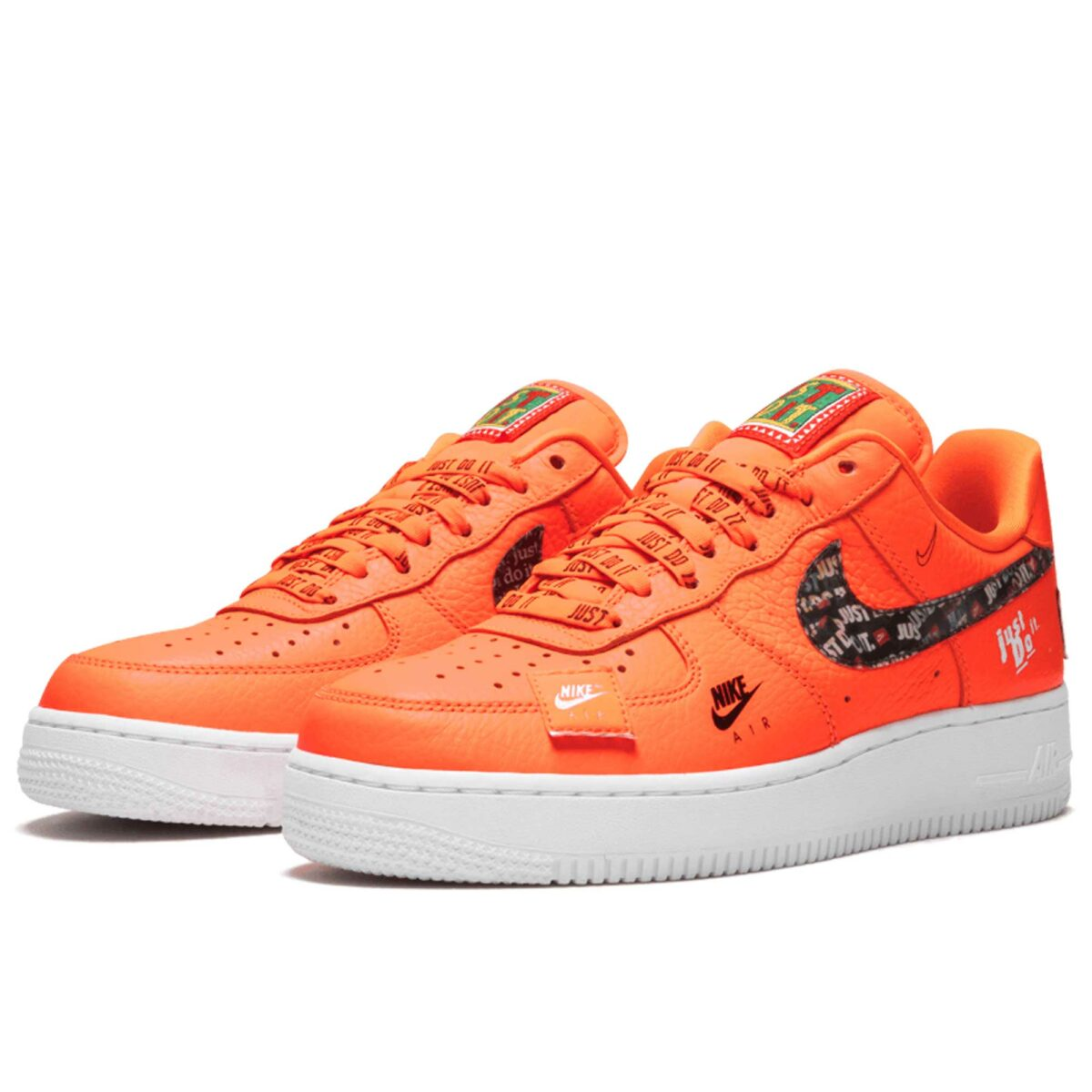 nike air force 1 07 orange AR7719_800 купить