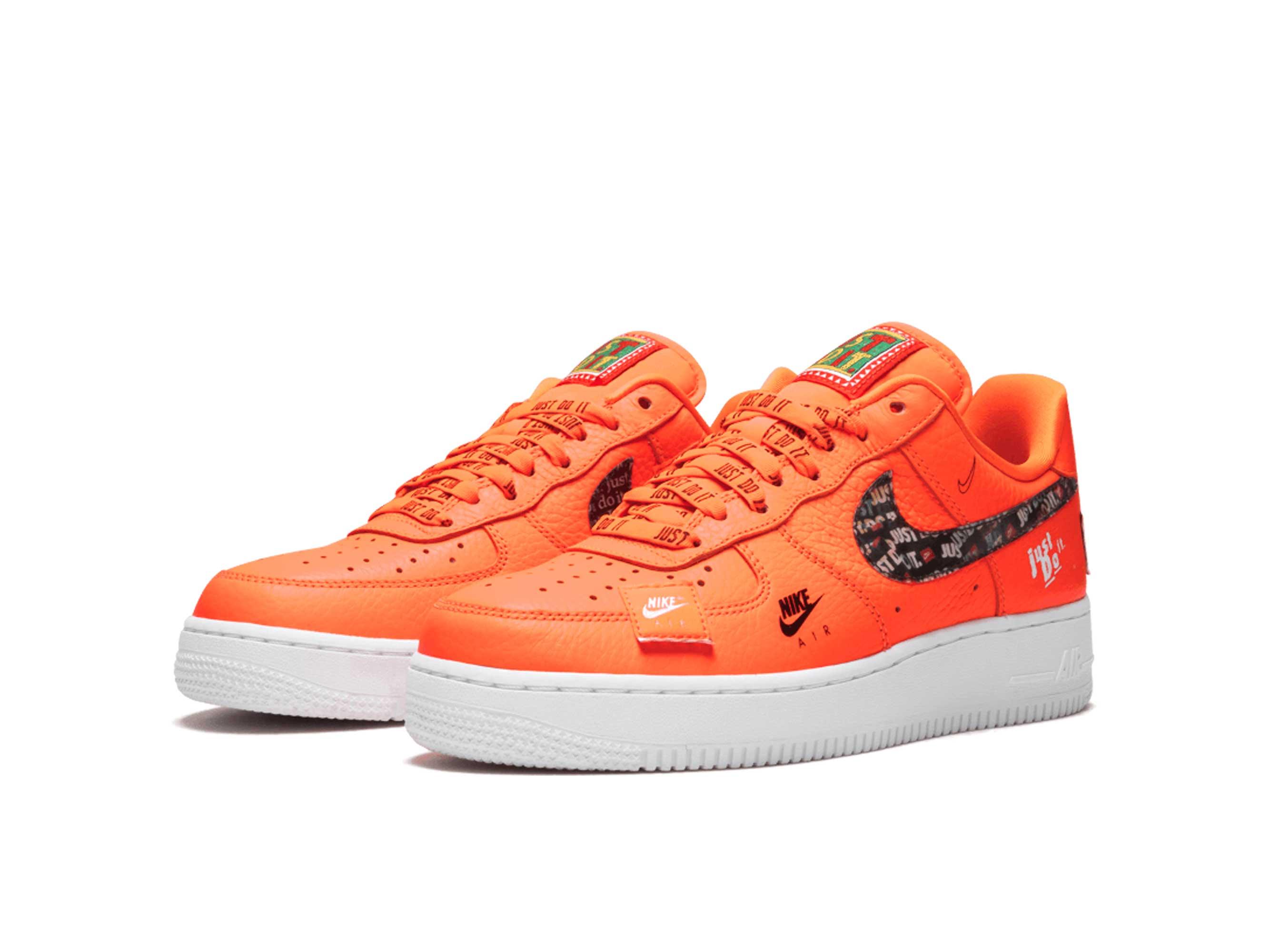 nike air force 1 07 orange AR7719_800 купить