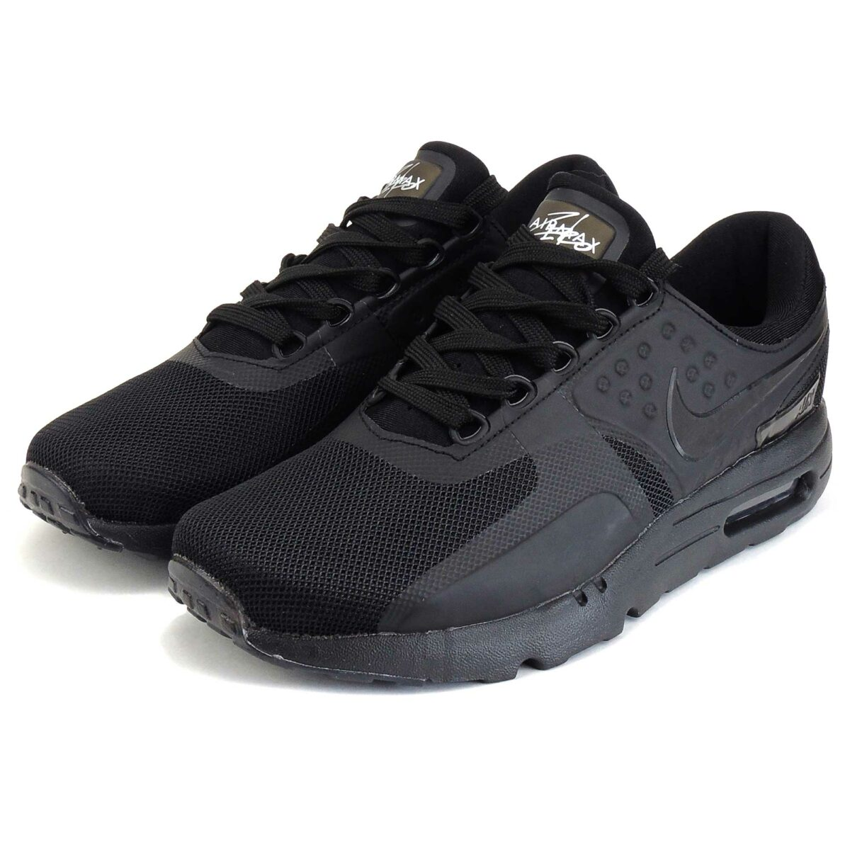 nike air max zero qs all black купить