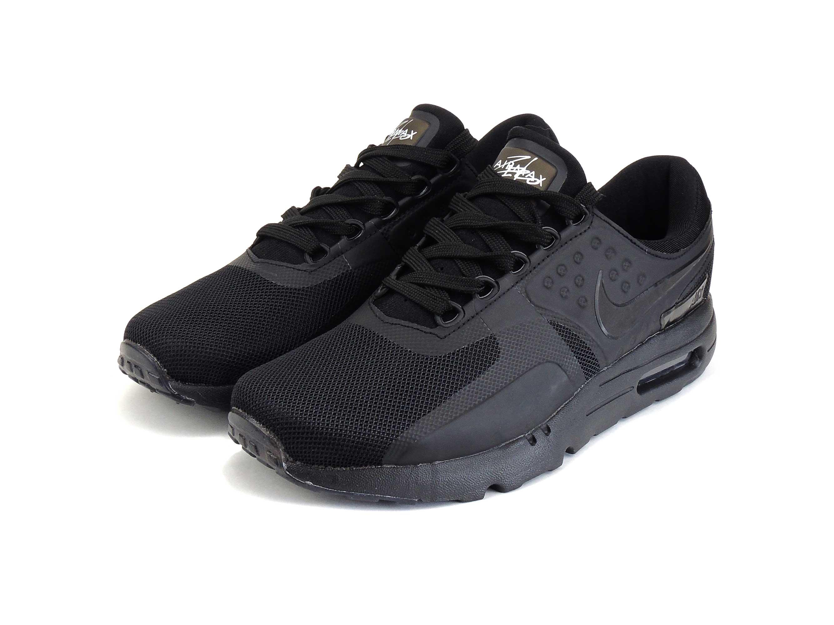 nike air max zero qs all black купить
