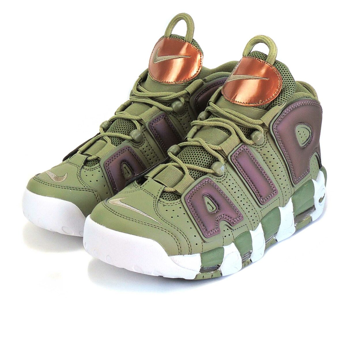 nike air more uptempo green 917593_001 купить