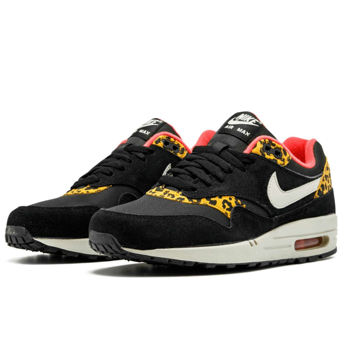 nike air max (1)87 black leopard 319986_026 купить