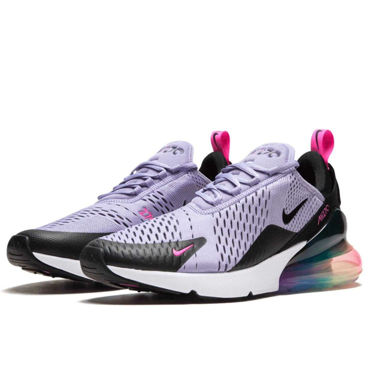 nike air max 270 purple black AR0344_500 купить