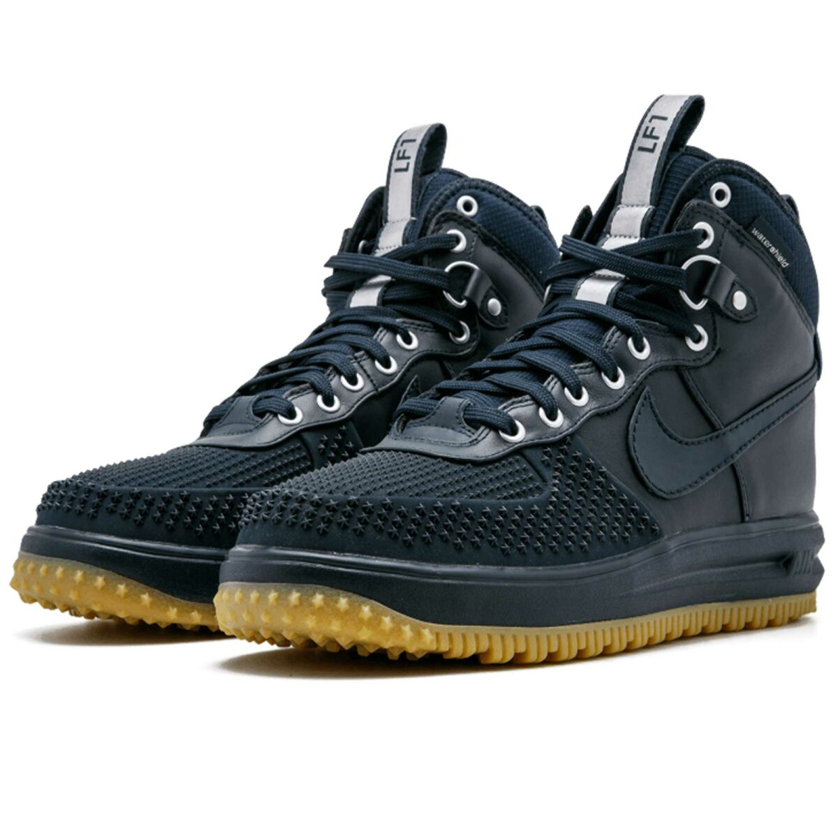 nike lunar force 1 duckboot dark obsidian 805899_400 купить