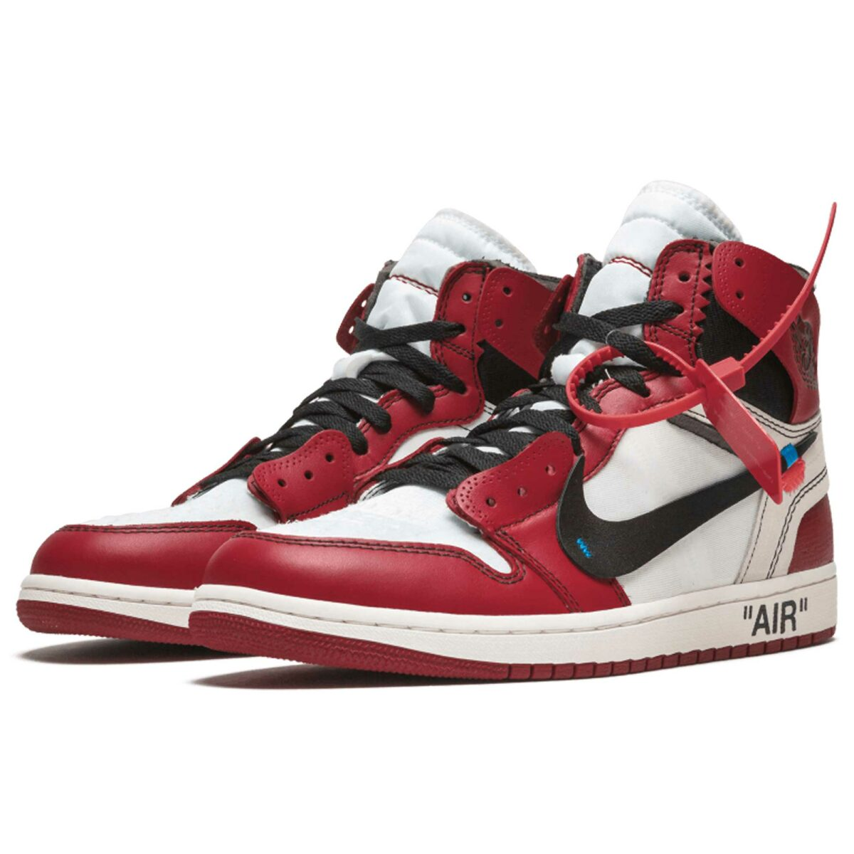 nike air Jordan 1 x off white the 10 red white aa3834_101 купить