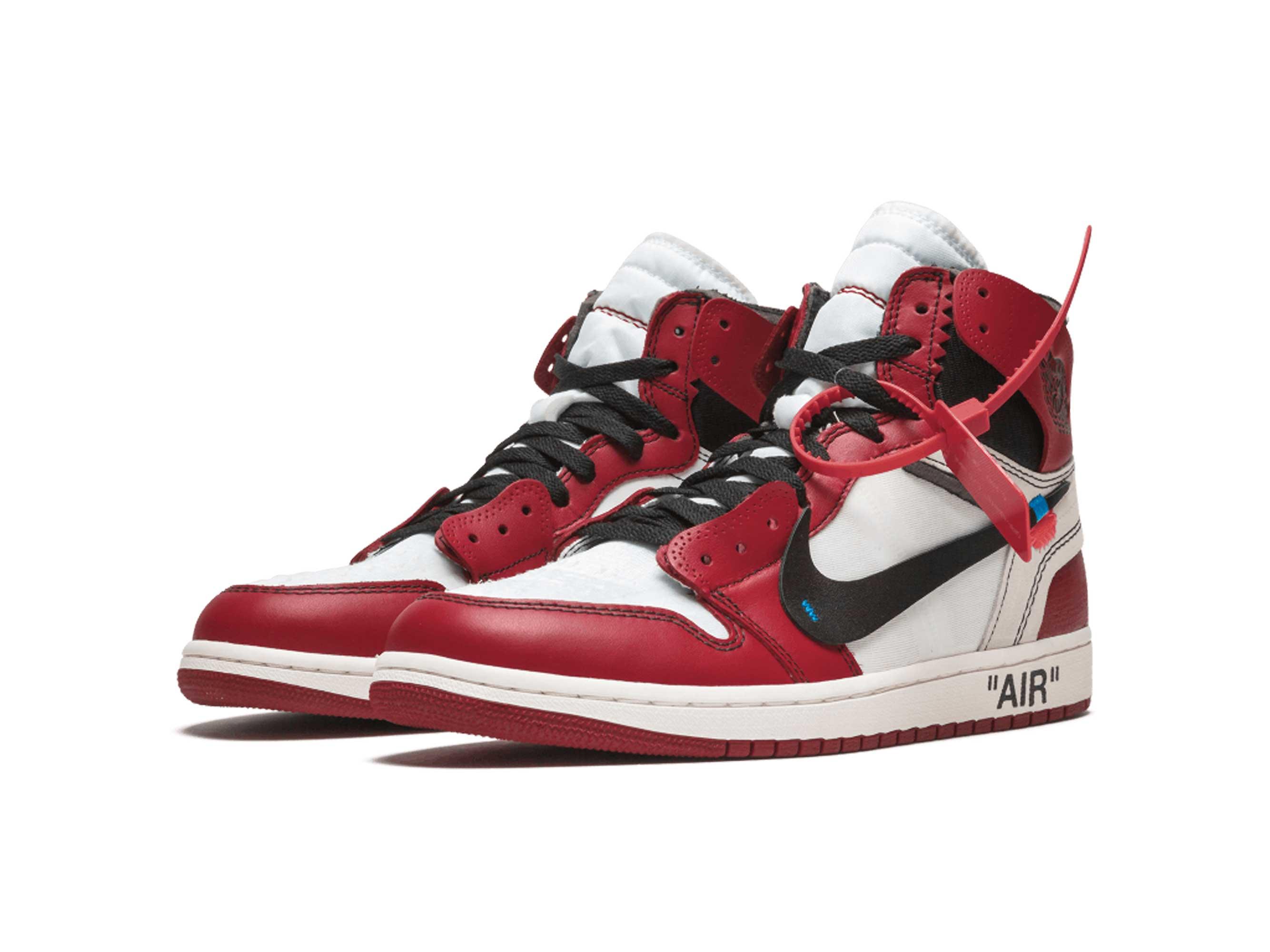 nike air Jordan 1 x off white the 10 red white aa3834_101 купить