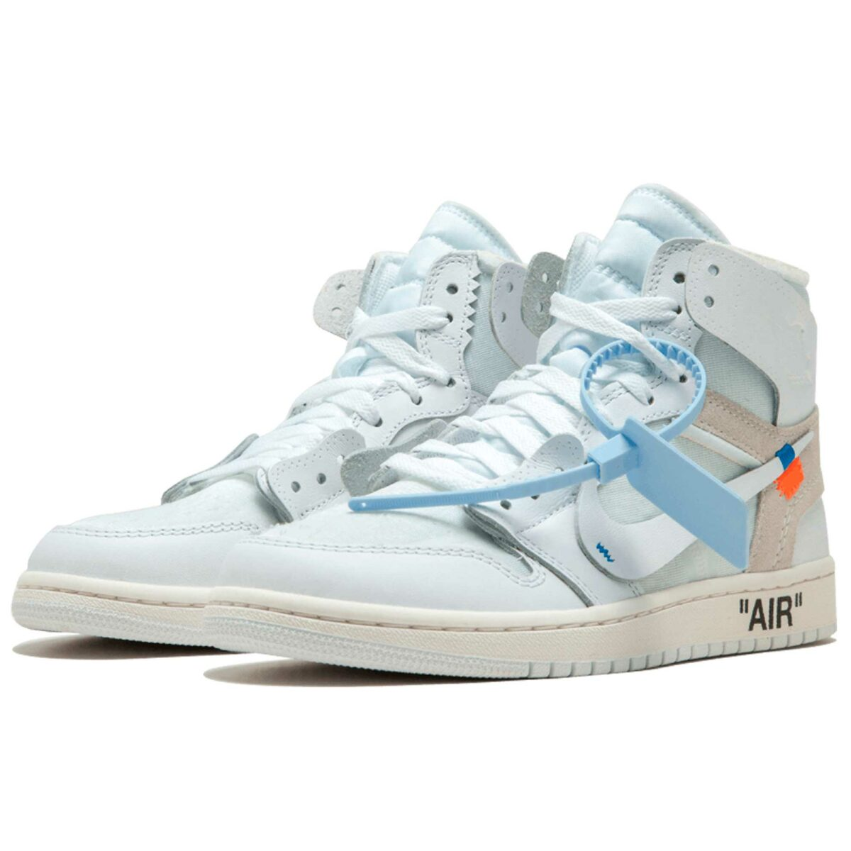 nike air Jordan 1 x off white the 10 white aq8296_100 купить