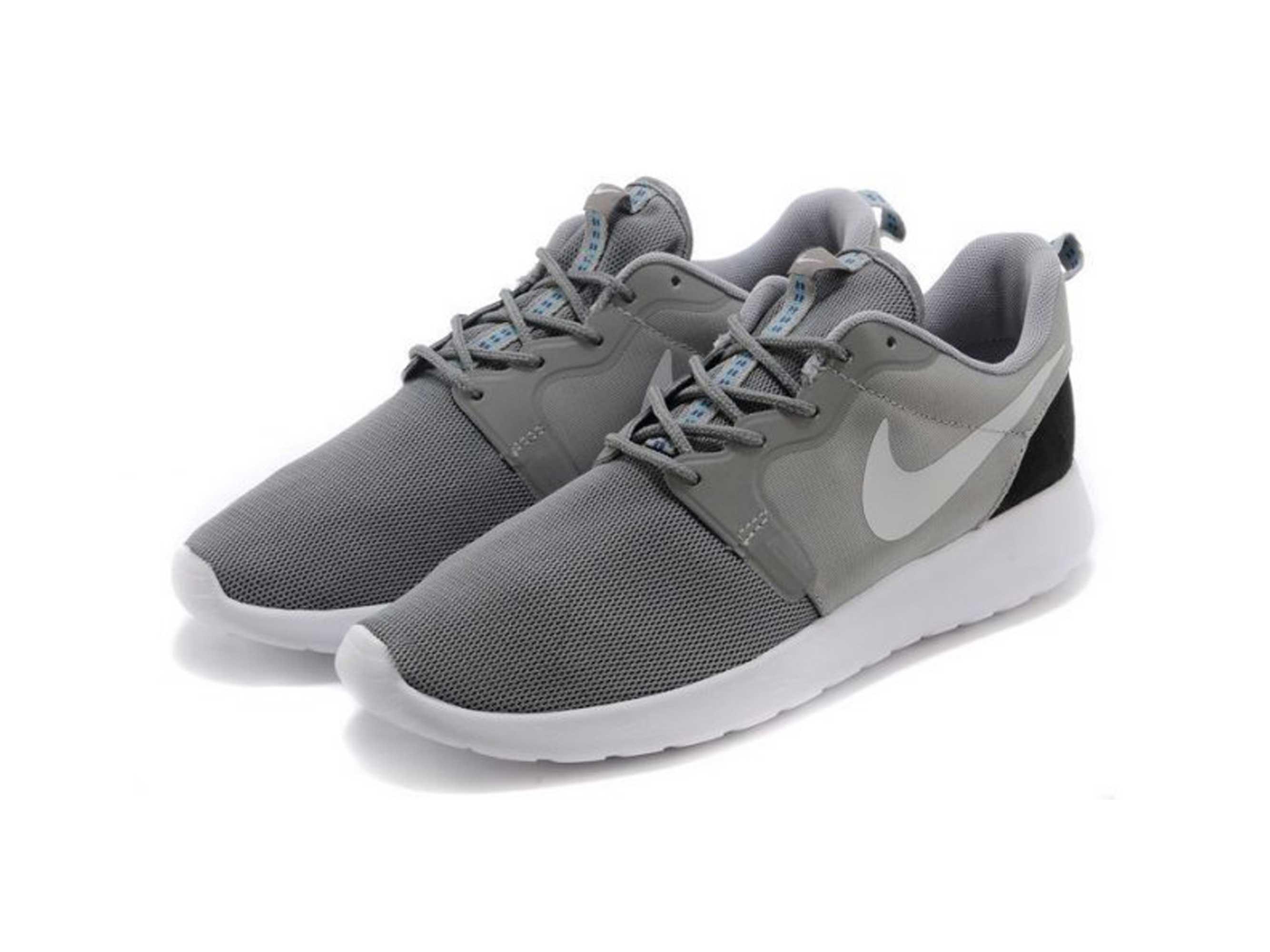 nike roshe one grey white black 636220_011 купить