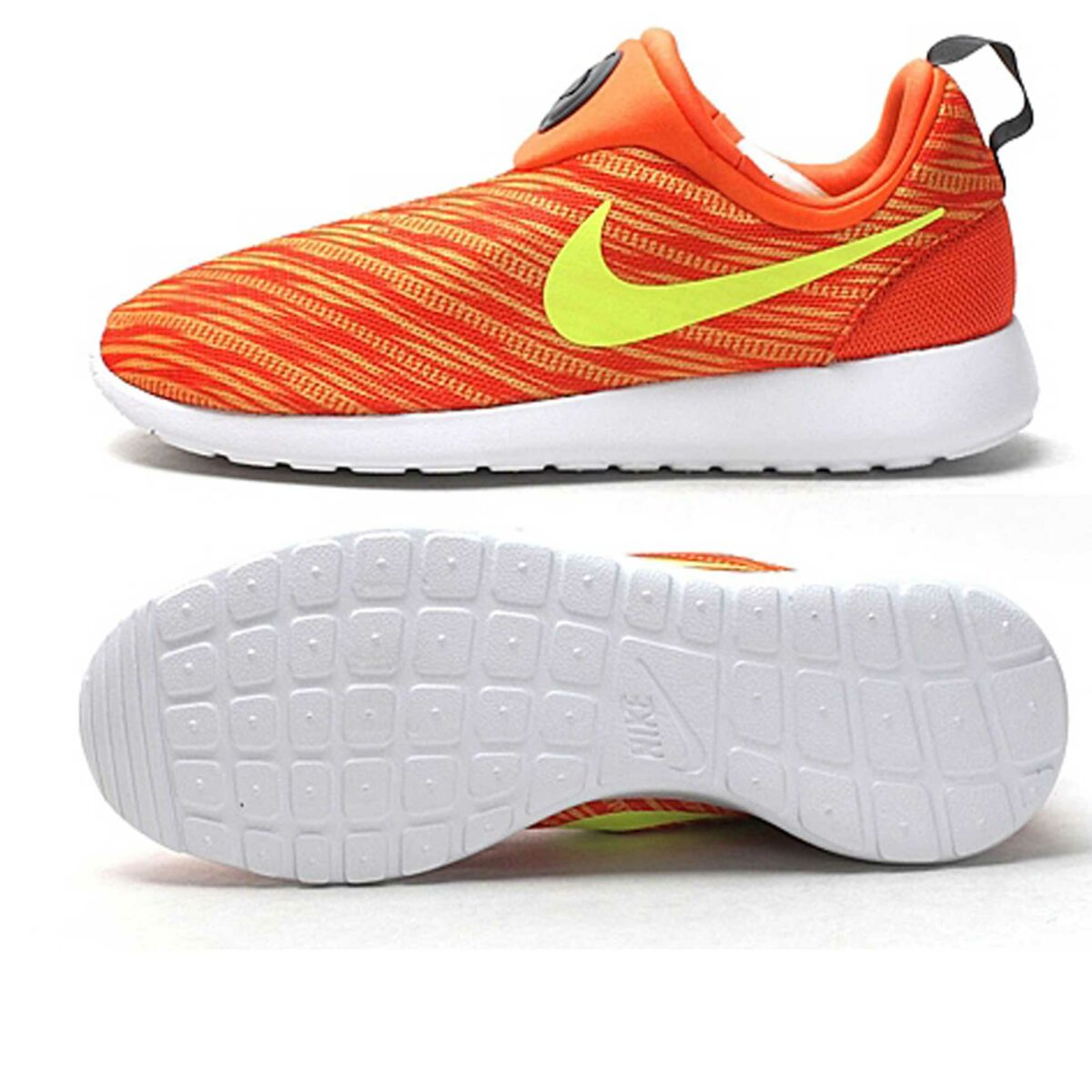 nike roshe run slip on gpx orange 644433_800 купить