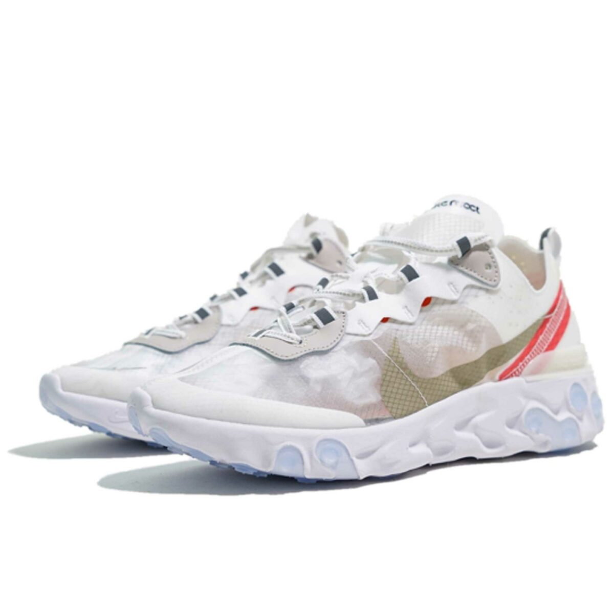 undercover x nike react element 87 white купить