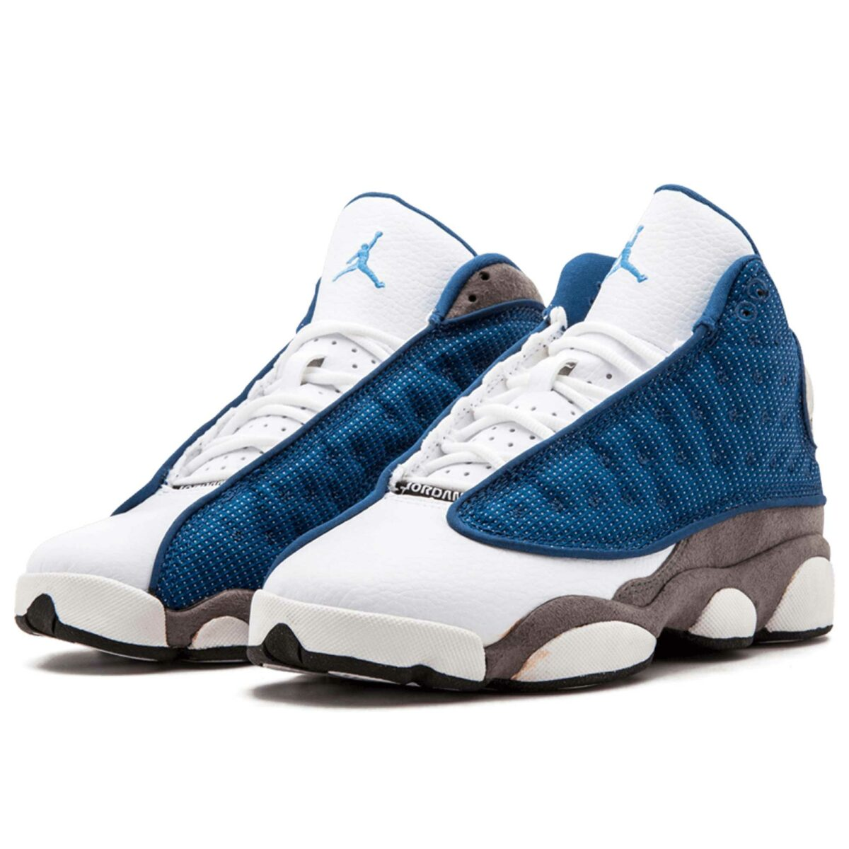nike air Jordan 13 Retro blue white grey 414574_401 купить