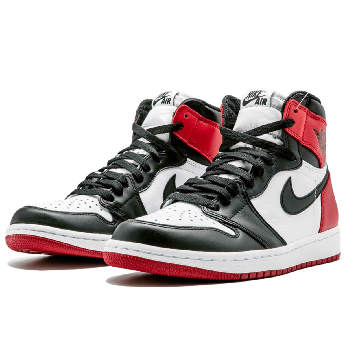 nike air Jordan 1 retro high og black toe 555088_125 купить