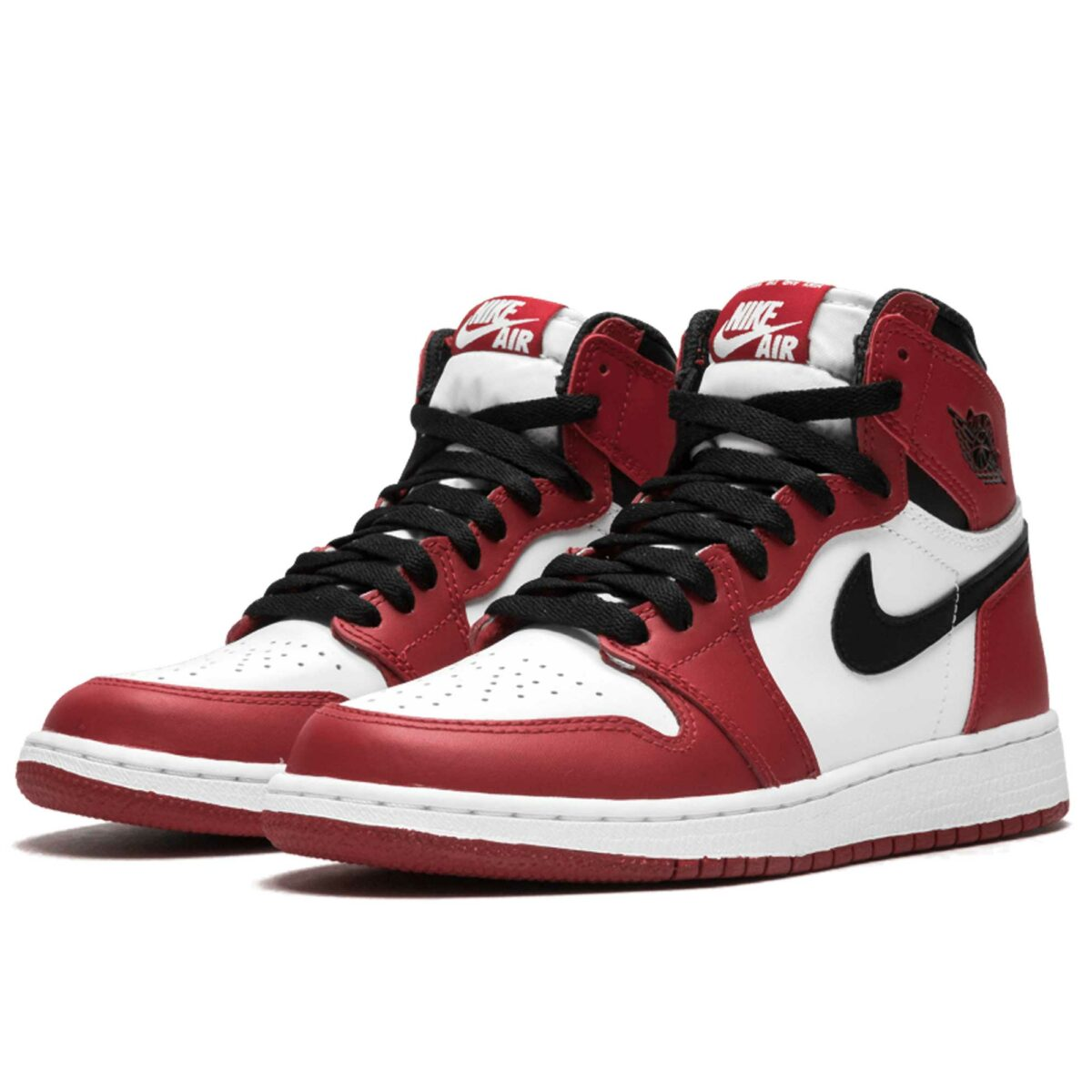 nike air Jordan 1 retro high og red white 575441_101 купить