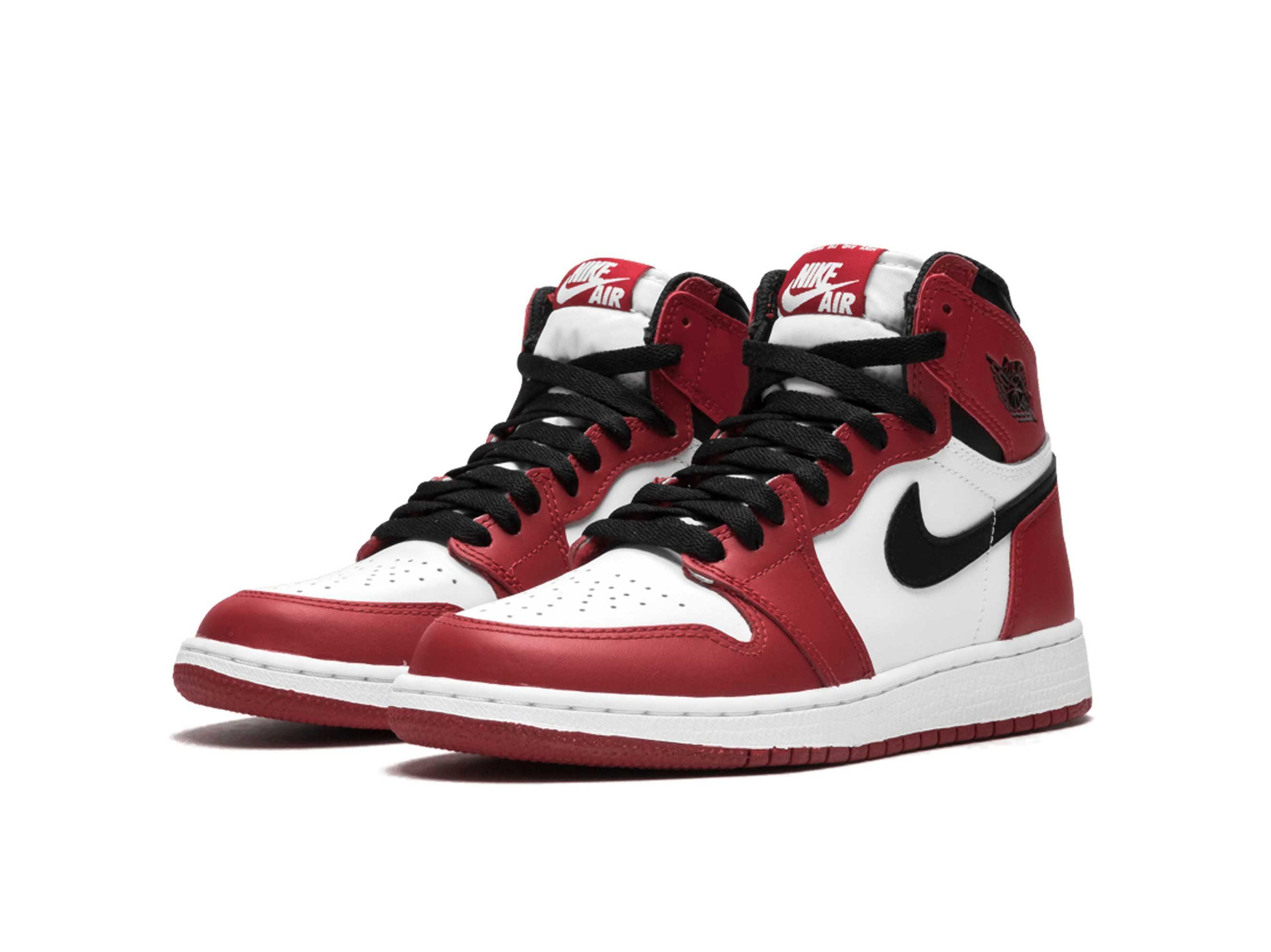 Jordan 1 retro high og red white 575441_101 купить