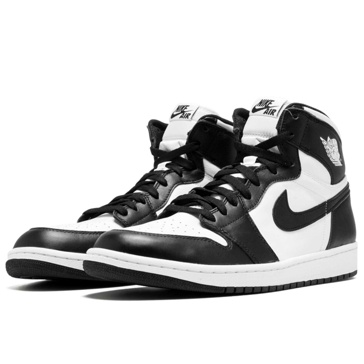 nike air Jordan 1 retro high og white black 555088_010 купить