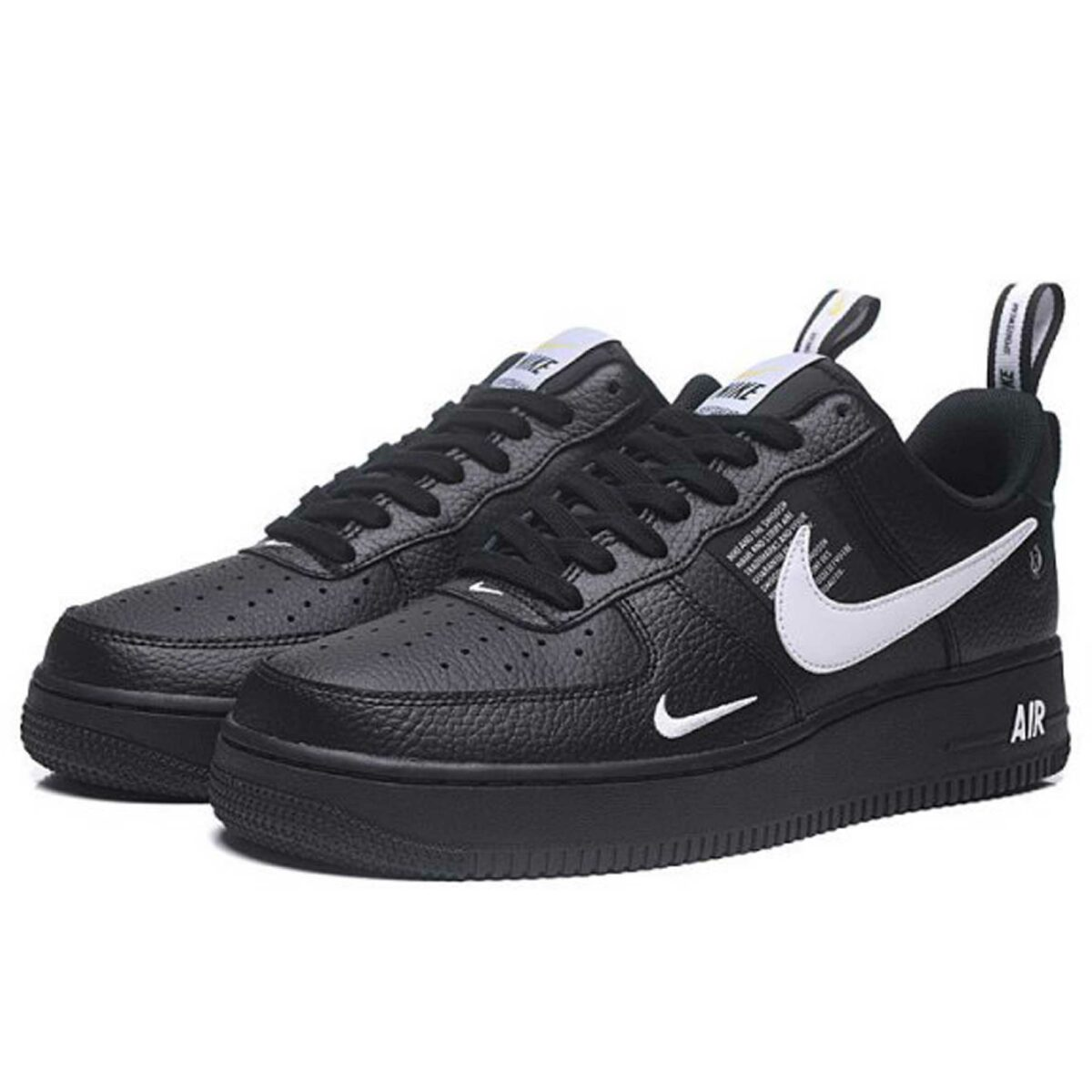 nike air force 1 `07 lv8 black white AJ7747_001 купить
